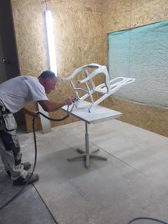 Vi målar om en stol